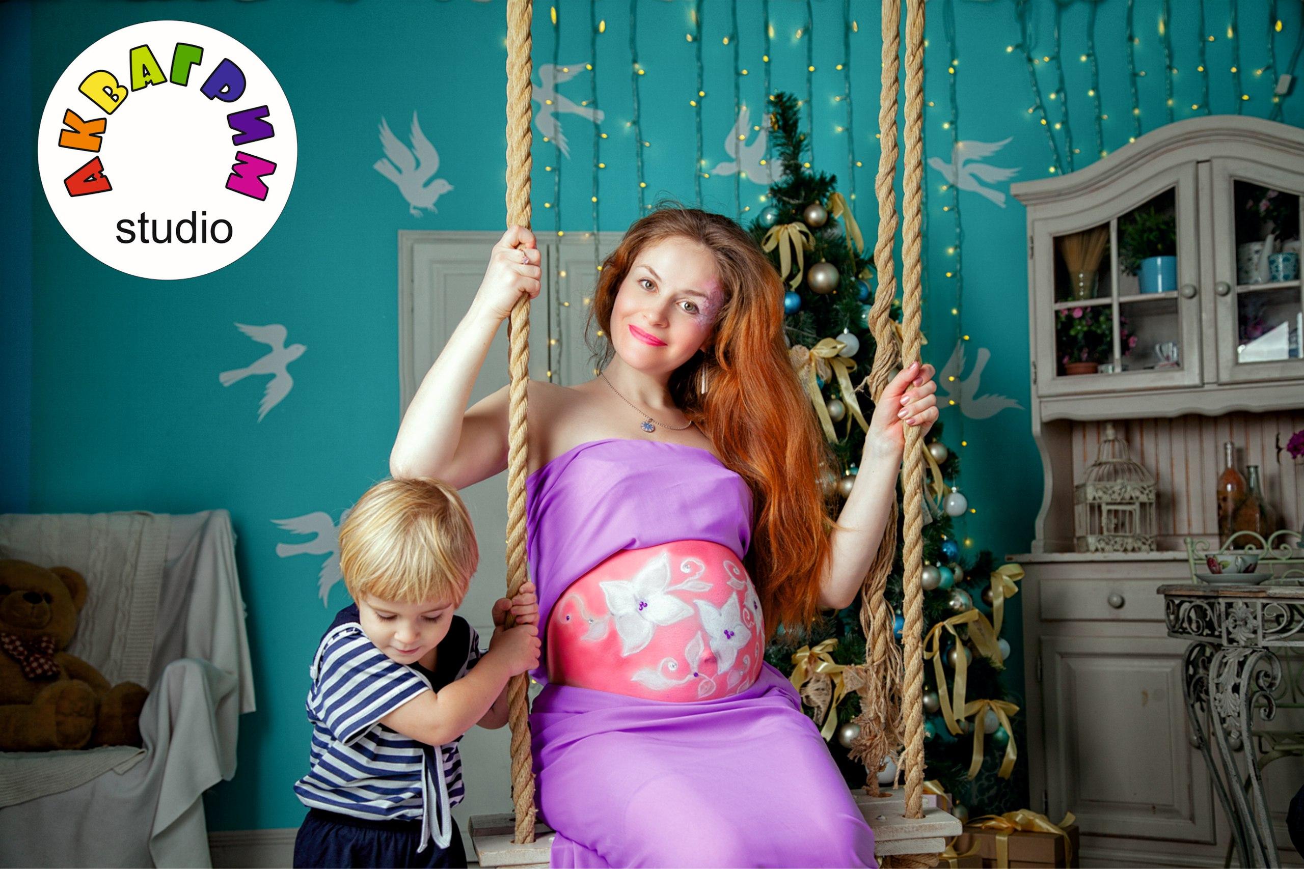 Фотосессии для беременных на кочелях
